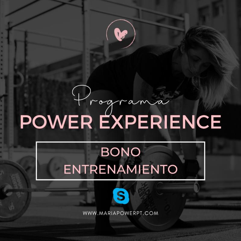 Bonos Entrenamiento Personal Skype Online 1