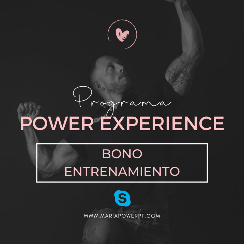Bonos Entrenamiento Personal Skype Online con José 1